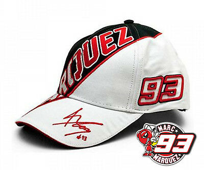 Official Marc Marquez Paddock Cap 93 White Universal 2016 Offer
