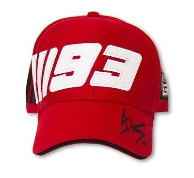 Official Marc Marquez Paddock Cap 93 Universal 2016 Offer