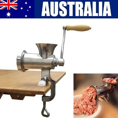 Pro Commercial Heavy Duty Manual Mincer Meat Grinder Sausage Mince Maker kitchen