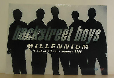 "Backstreet Boys : Cartonato Pubb. ""millenium""  1999"