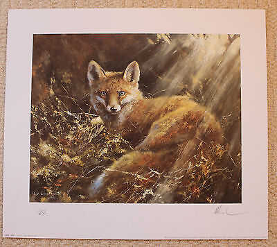 """Mick Cawston Limited Edition Signed Print  """"charlie"""""""
