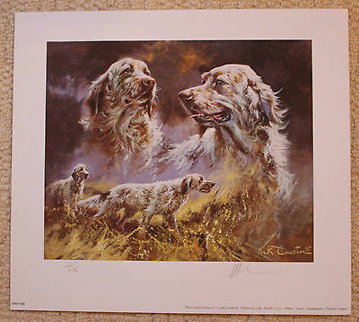 "Mick Cawston Limited Edition Signed Print  ""if There Is A Heaven"""
