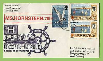 Jersey 1976 Paquetbot/Marine cover MS. Hornstern