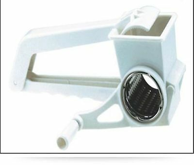 Rotary Grater with Stainless Steel Drum Cheese and Vegetable Gartering