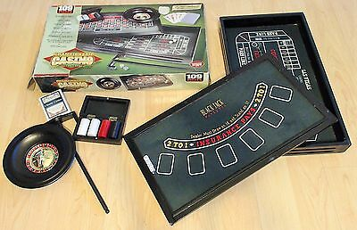 CHAMPIONSHIP CASINO Deluxe Table Game Set 2005