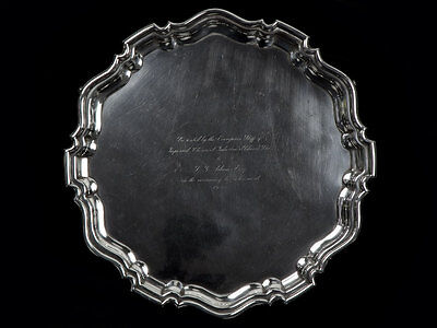 1935 Sterling Silver Salver to 1911 Chinese Red Cross Recipie
