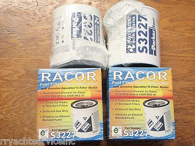 Fuel Filter Racor Gas 62 S3227 320Rrac01 Outboard Replacement Pair Filters Ebay