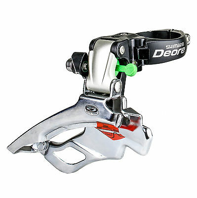Shimano Deore FD-M531 Triple 9 Speed Mountain Bike Bicycle Front Derailleur