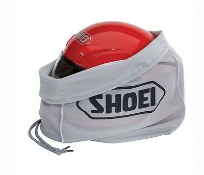 Shoei Helmet Sack Drawstring Helmet Bag Grey Genuine