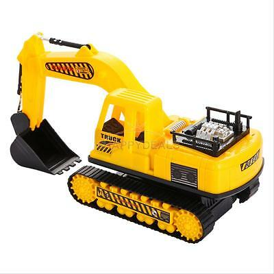 Electric Remote Control Digger Car Simulation Excavator Construction Truck Toy