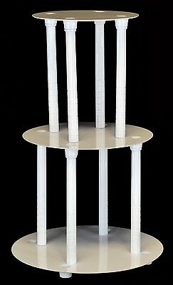 3 Tier Cake Stand Separator And Pillar Set (Style 1100)