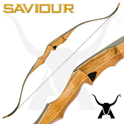 The Apex Saviour - One Piece Wooden Traditional Recurve Bow - Archery & Hunting