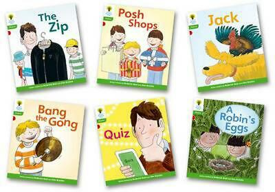 Oxford Reading Tree: Level 2: Floppy's Phonics Fiction: Pack of 6 by Roderick Hu