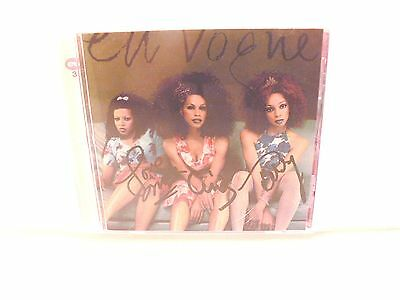 Autographed In Person En Vogue Signed Cd Cover W/ Cd