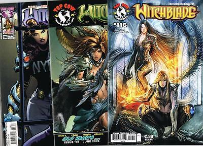 3 issues of Witchblade - Issue # 96, 98, 116 - Image Comics - NM/VF (1095)
