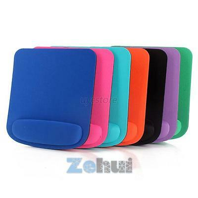 7 Color Wrist Rest Soft Support Mouse Pad Mat Mice Pad For Optical/Trackball U18