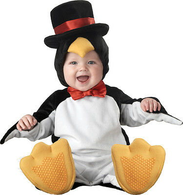 Costume Carnevale Pinguino Incharacter 0-24M Carnival baby costume penguin 0-24M