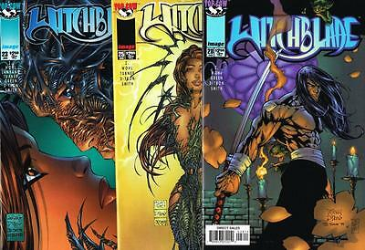 3 issues of Witchblade - Issue # 23, 25, 28 - Image Comics - NM/VF (1113)