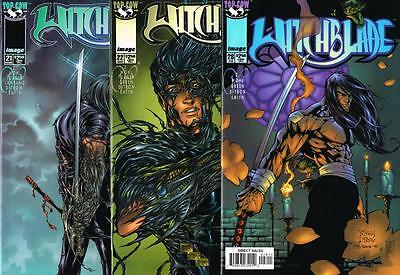 3 issues of Witchblade - Issue # 21, 22, 28 - Image Comics - NM/VF (1114)