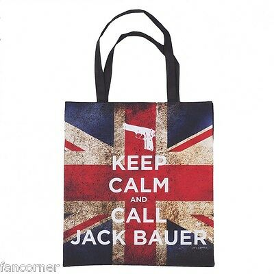 24 heures sac Officiel Jack Bauer 24 Keep calm and call Jack Bauer tote bag