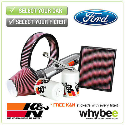 FORD Mondeo K&N KN Performance Filters inc Air, Oil & Intake Kits