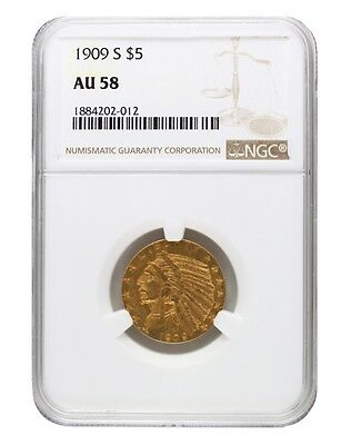 1910-D NGC MS63 $5 Indian Half Eagle