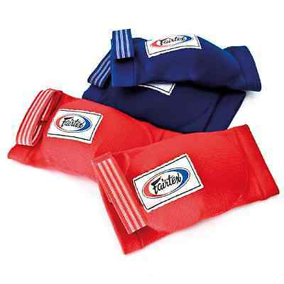 Fairtex Muay Thai Kick Boxing Elastic Elbow Pads Ebe1 Protect Soft Fabric