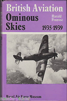British Aviation Ominous Skies 1935-1939 Harald Penrose 1980