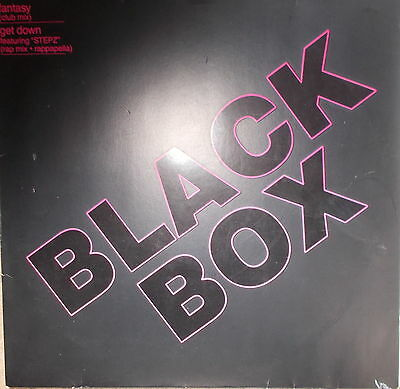 "12"" Maxi Black Box ‎– Fantasy ,NEAR MINT TOP ,cleaned, Polydor ‎– 879 089-1"