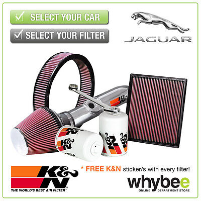 JAGUAR XF All K&N KN Performance Filters inc Air, Oil & Intake Kits - New!