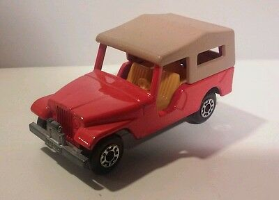 Matchbox Lesney No. 53 CJ6 JEEP  Superfast
