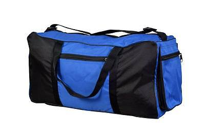 314cc3ad17953 Heavy Duty Training Gym Sports Football Duffle Bag Holdall Travel Luggage  Carry
