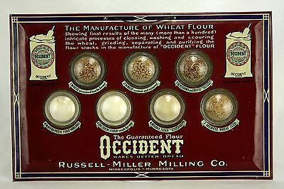 Unusual Antique/Vintage Occident Flour Russell Miller Milling Advertisement