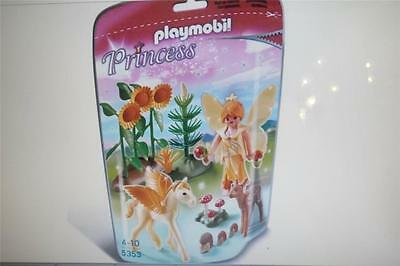 Brand New Playmobil 5353; Princess Forest Fairy With Baby Pegasus Gold Dust