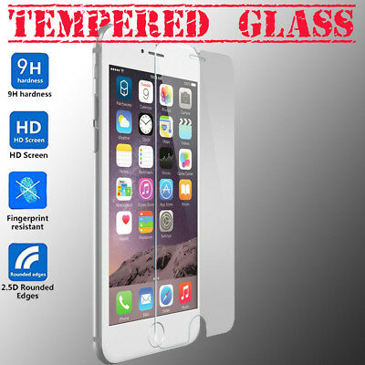 3pc HQ Premium Tempered Glass Screen Protector for Iphone 6 6S Plus USA shipping