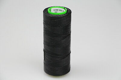 for SPEEDY STITCHER BLACK Heavy Duty Sewing Waxed Fine Thread 170mts 0.8mm