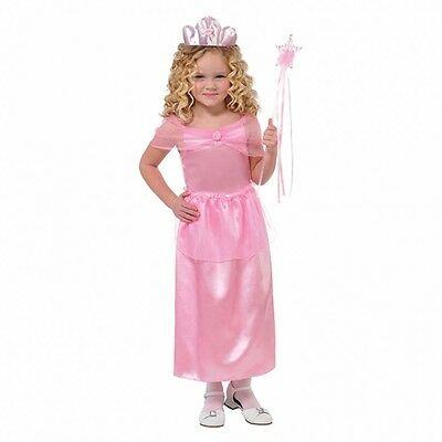 Girls Pretty Pink Princess Dressing up fancy dress Costume age 4-6 Book Week