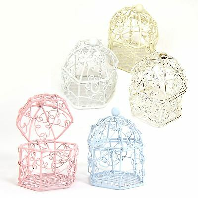 Mini Swirly Bird Cage Favours for Wedding Baby Shower! Boxes