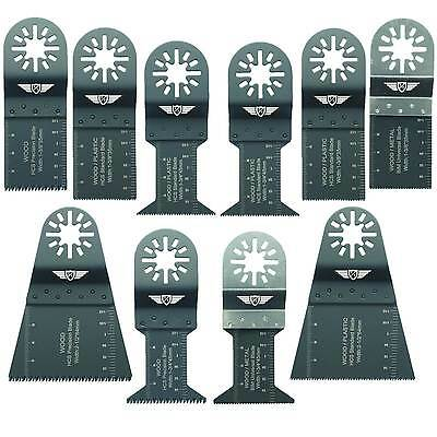 10 x Blades for Bosch PMF GOP 180 190 250 300 Multitool Multi Tool