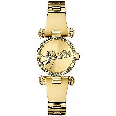 GUESS    CHRONOGRAPH Gold-Tone Watch  U0287L2 Stainless Steel Stripe