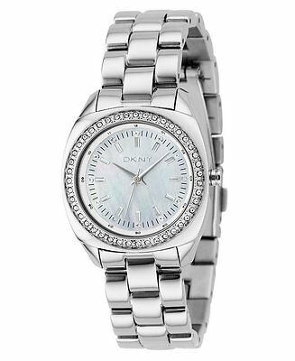 DKNY    CHRONOGRAPH Silver Watch  NY4869 Stainless Steel Stripe