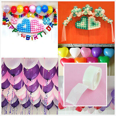 2/5roll 100 Dots Photo Glue Permanent Adhesive  Wedding Party Balloon Deco