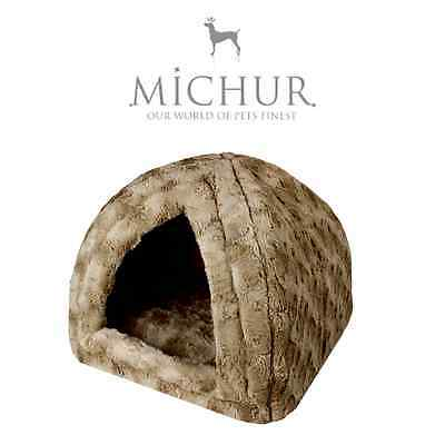 Michur Polly Marron, Panier, Lit, chiens, chats, panier, corbeille, coussin,