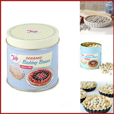 700G Ceramic Baking Beans in TIN Tala Pie Weight Beads Re-Usable Oven Bake Peas