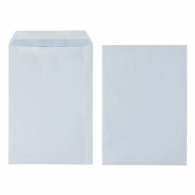 New 1000 X A5 C5 High Quality Plain White Envelope Envelopes 90 Gsm Self Seal