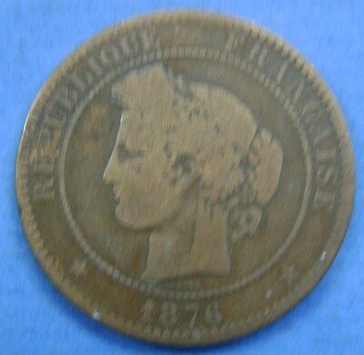 Frankrijk - France :  10 centimes 1876 A Paris