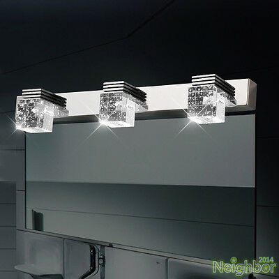 Modern LED Crystal Wall Light Mirror Front Lamp Wall sconce Bathroom lighting