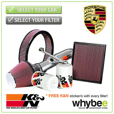PORSCHE Boxster K&N KN Performance Filters inc Air, Oil & Intake Kits