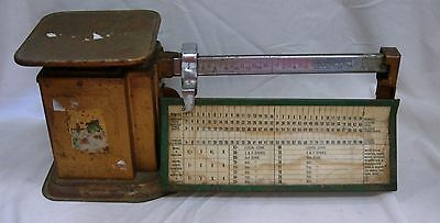 Vintage Triner Airmail Postage Scale 2 lb. Capacity
