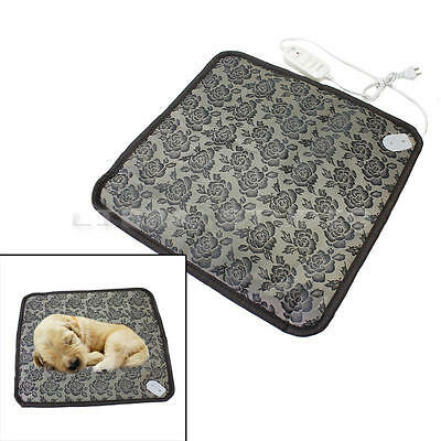 Waterproof Pet Dogs Cat Puppy Electric Heated Heating Pad Mat Blanket 110V